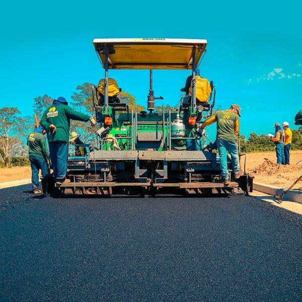 Empresas de pavimentação e terraplenagem