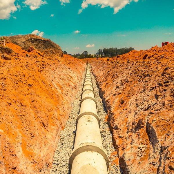 Infraestrutura de terraplanagem