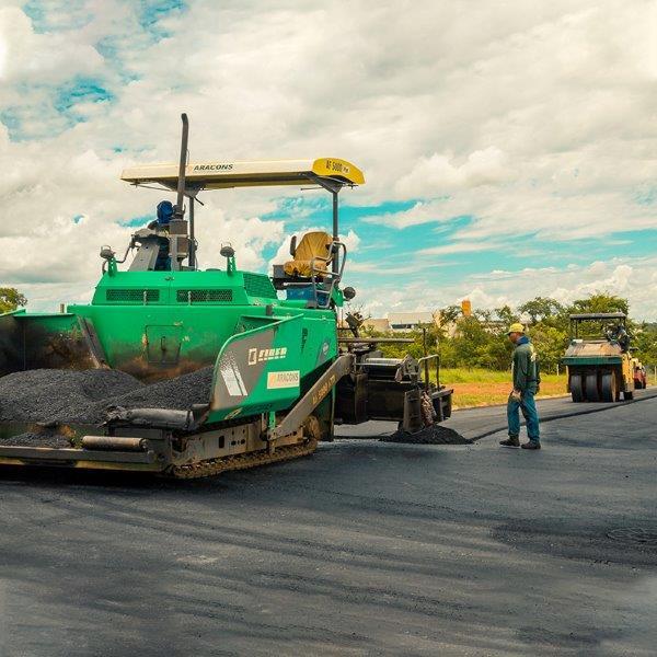 Pavimentação industrial