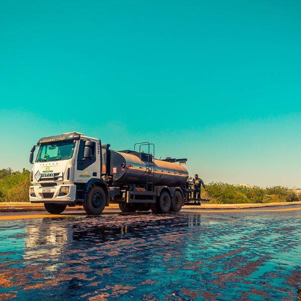 Serviços de pavimentação asfaltica